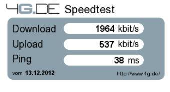 LTE-Speedcheck